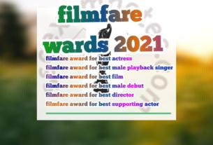filmfare awards 2021